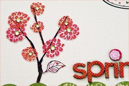 Waleska- spring wishes detail