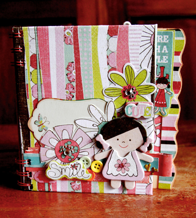 Little girl mini book