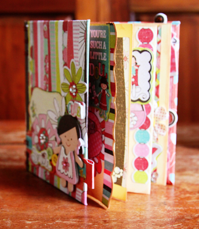 Little girl mini book-b