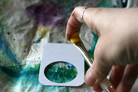 Paint Splatter 9