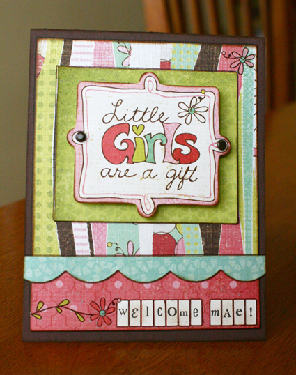 Little girls card-1