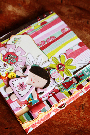 Little girl mini book-a