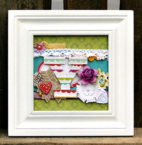 Amy Parker Crate Paper Joy Frame Y-1