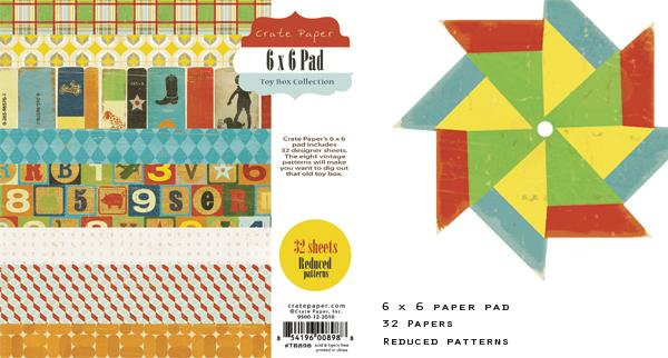 6x6 toy box