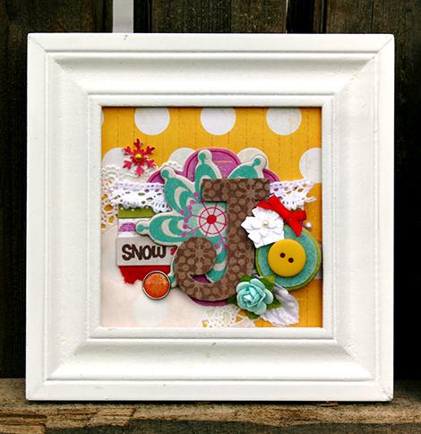 Amy Parker Crate Paper Joy Frame J