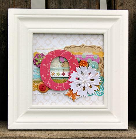 Amy Parker Crate Paper Joy Frame O