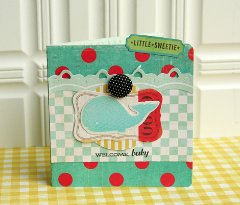 Welcome baby card1
