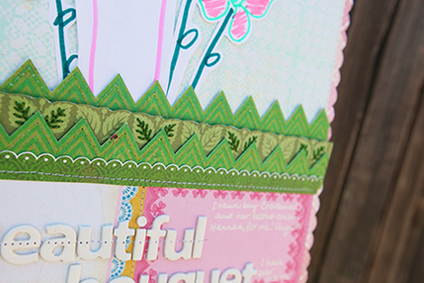Amy Parker Crate Paper Beautiful Bouquet hanging close up 1 for CP Blog