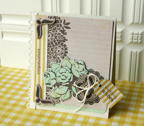 Wedding wishes card1