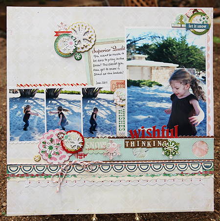 Amy Parker Crate Paper Peppermint Wishful thinking for CP blog