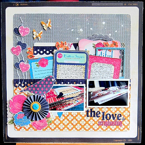 The love for scrapbooking