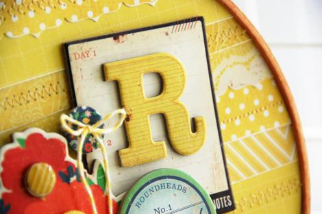 Roree Rumph-Crate Paper Jun12 Sunshine Yellow-R Embroidery Hoop closeup1 3
