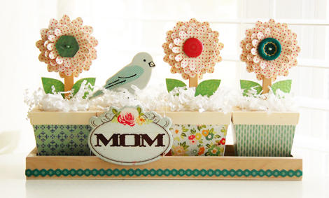 Roree Rumph-Crate Paper Apr12-mom flower planter 3