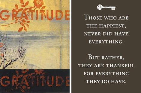 Gratitude&Happiness