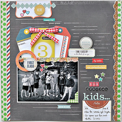Alicia-Giess -Our Special Kids Layout
