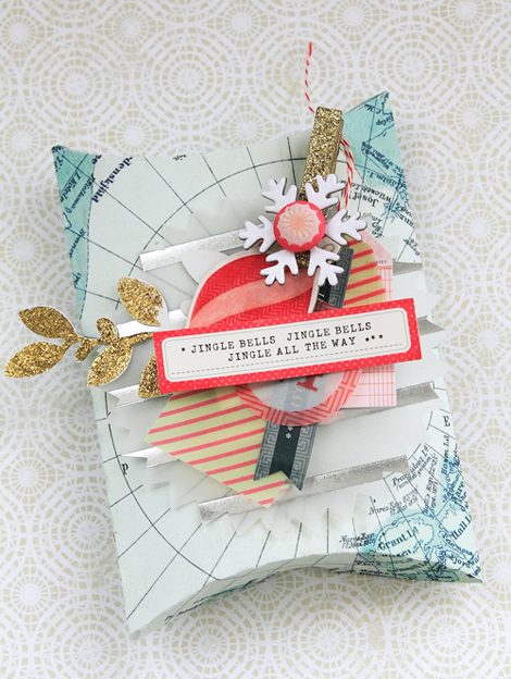 Christmas Gift Box Tutorial w/Michiko Kato - Crate Paper