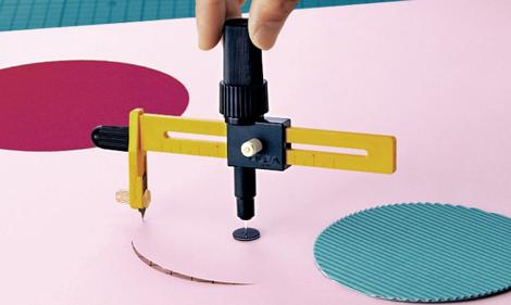 Circle compass cutter