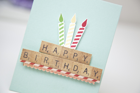 crate style  popup birthday cards w/ashley cannon newell, Birthday card