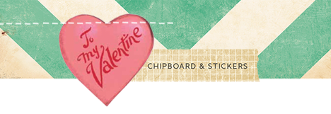 Chipboard and stickers