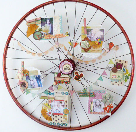 Scrapbook wheel