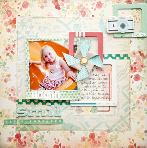 Marianne Sjoberg - Crate Paper Creative Weekly June Challenge