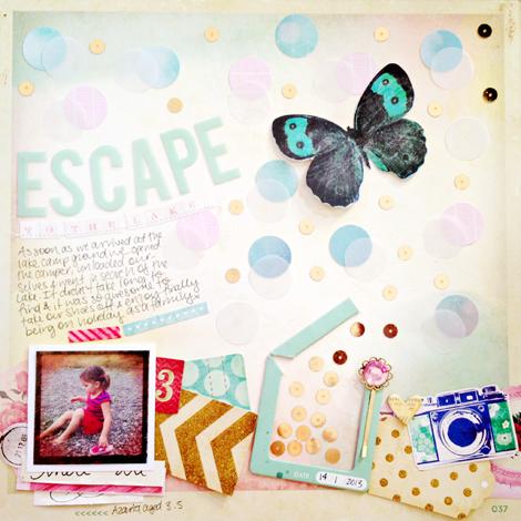 Melissa Vining - Crate Paper Creative Weekly June Challenge