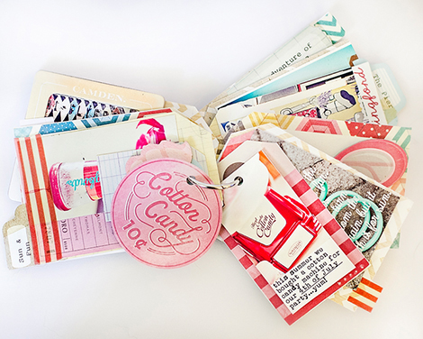 Pier4Candy - Crate Paper Mini Album by Marie Lottermoser