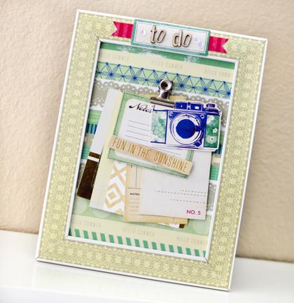 Make It Crate :: Washi Tape Frames w/Rebecca Luminarias - Crate Paper