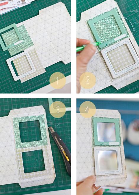 make it crate    pier pocket mini album w  stephanie dagan