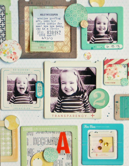 Ginny Hughes - Crate Paper Creative Weekly June Challenge