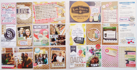 April Joy Hill - Crate Paper Creative Weekly June Challenge