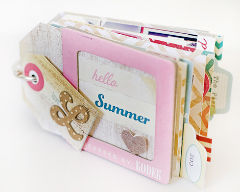 Pier1Cover - Crate Paper Mini Album by Marie Lottermoser