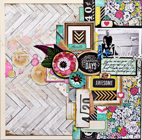 Christine Middlecamp - Crate Paper - Flea Market - 470