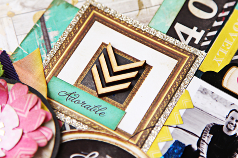 Adorable Gold Frame-470
