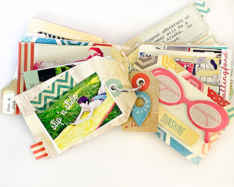 Pier6Sunshine - Crate Paper Mini Album by Marie Lottermoser