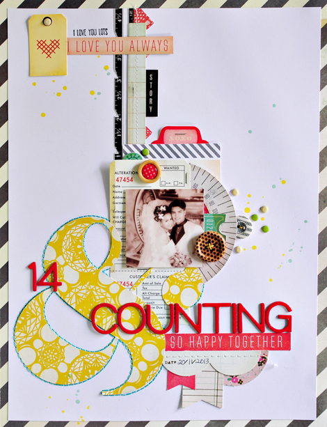 Thank You Notes Anniversary Layout Letter W Sasha Farina Crate
