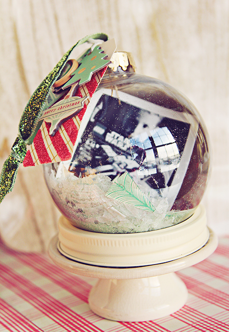 Crate Paper Holiday Ornament Two by Christine Middlecamp