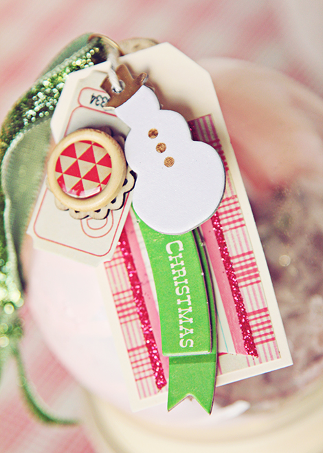 Crate Ornaments Tags One
