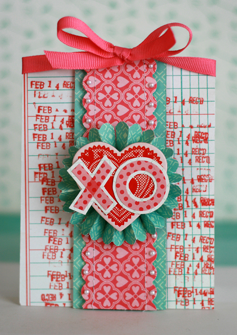 Valentine Notes Craft Your Own Rosette Card Lisa Dickinson – Beautiful Handmade Valentine Cards