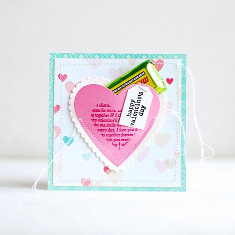 CP Valentines card