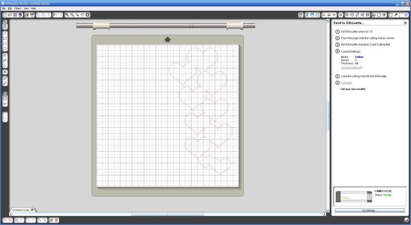 Silhouette Hearts Screen Shot