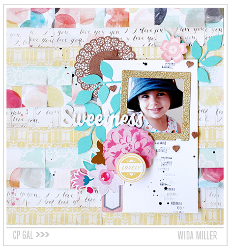 Crate Paper | Wida Miller | Sweetness Styleboard Layout