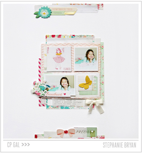 Crate Paper | Stephanie Bryan | Oh Darling Layout