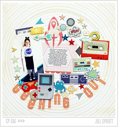 Crate Paper | Jill Sprott | Geeking Out