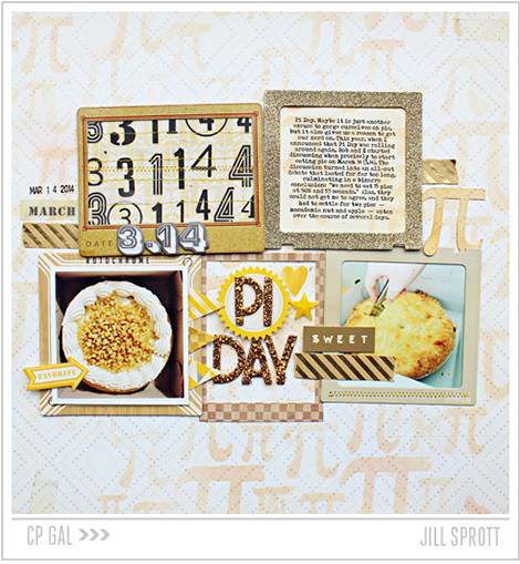 Crate Paper | Jill Sprott | Pi Day