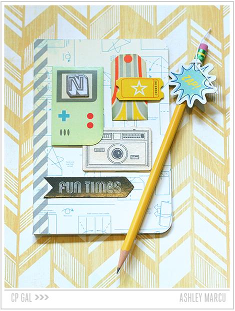 Crate Paper   Ashley Marcu   Pencil & Notebook