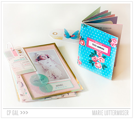 Crate Paper | Little Moments Mini Album | Marie Lottermoser