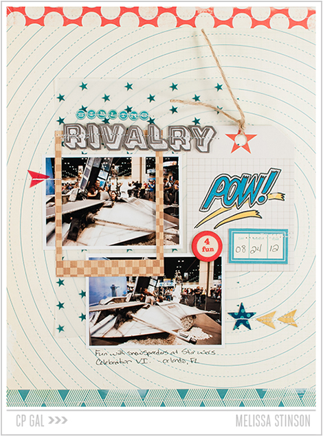 Crate Paper | Melissa Stinson | Sibling Rivalry