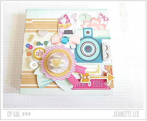 Crate Paper | Jeanette Lee | What a Doll