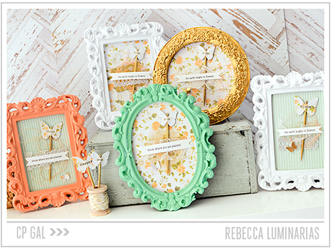 Crate Paper | Rebecca Luminarias | Open Road Frames